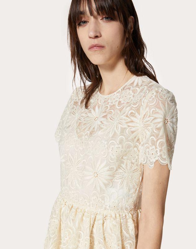 Rebrodé Organza Dress