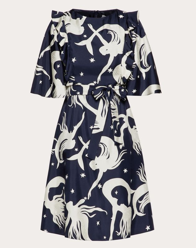 Printed Twill Dress