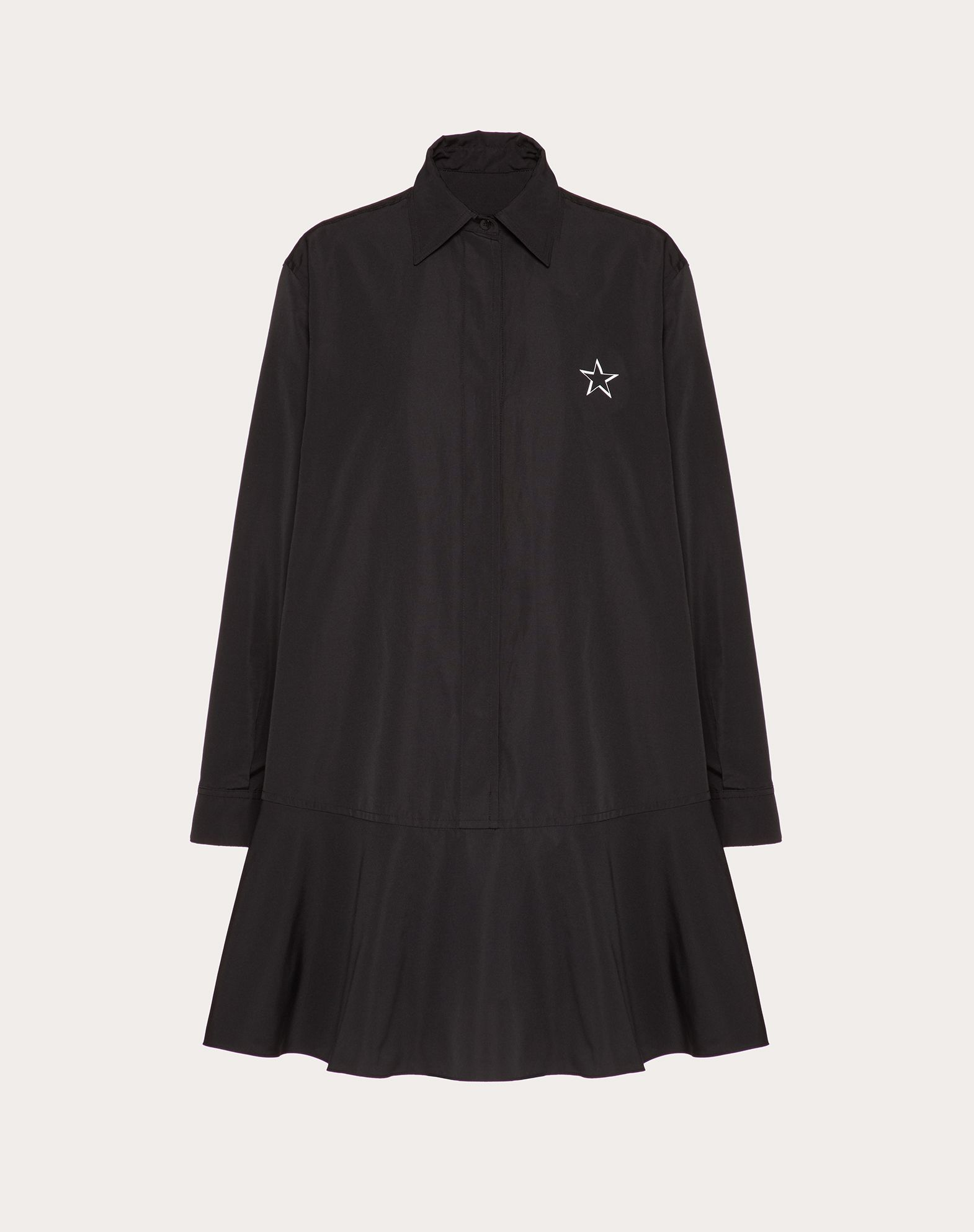 VLTNSTAR Micro-Faille Dress