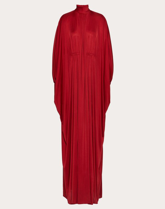 Fluid Jersey Evening Dress