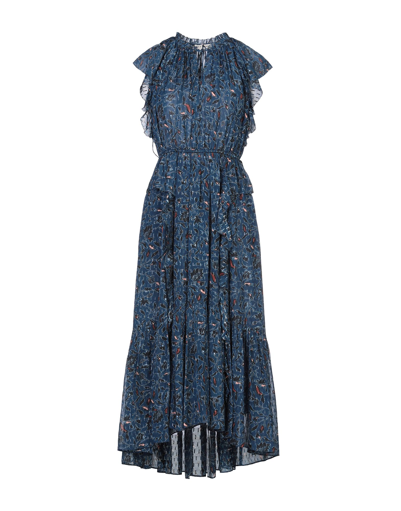 ULLA JOHNSON Платье длиной 3/4 куртка утепленная ulla popken ulla popken ul002ewgfwd3