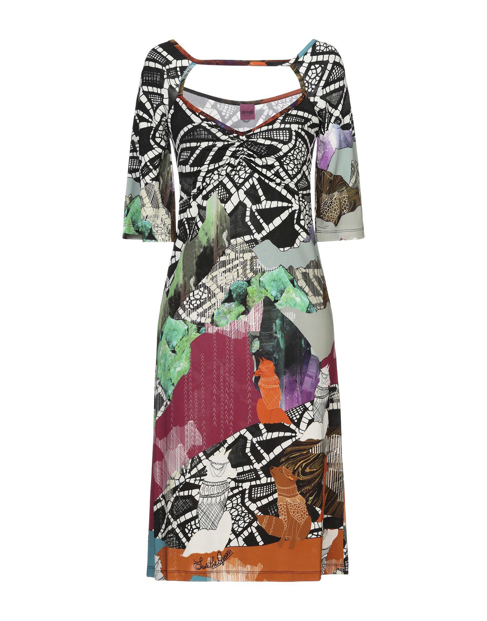 SAVE THE QUEEN Платье до колена
