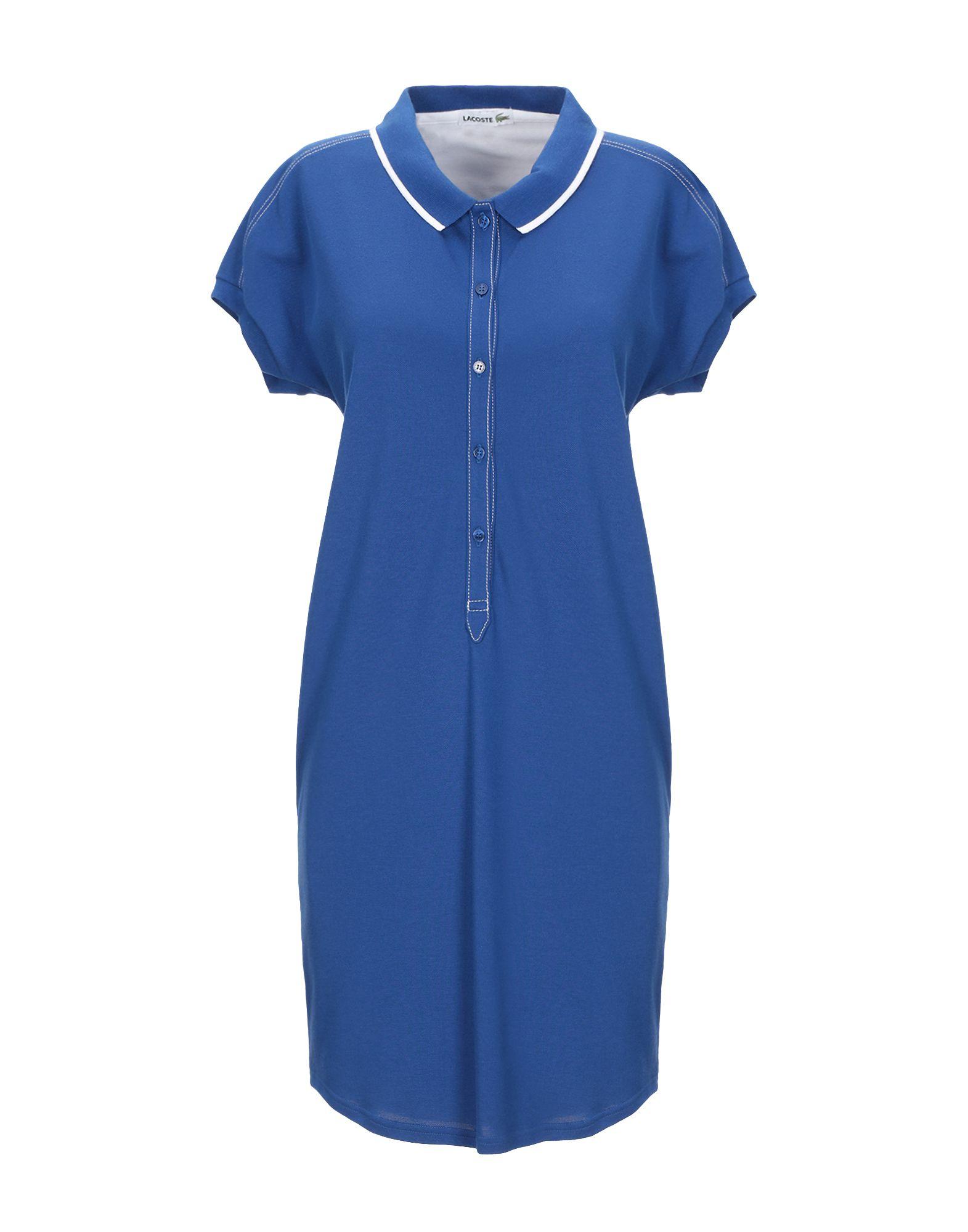 цена LACOSTE Короткое платье онлайн в 2017 году