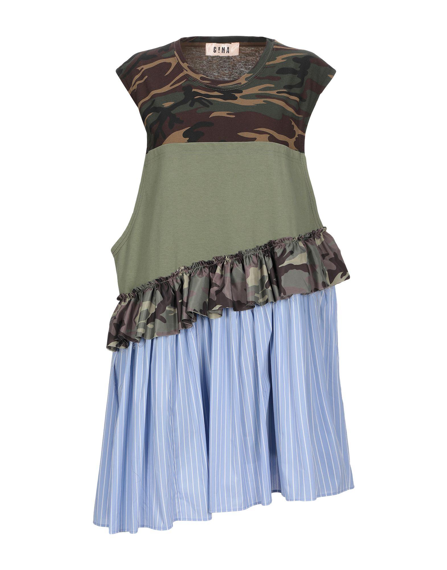 Фото - G!NA Короткое платье g na блузка