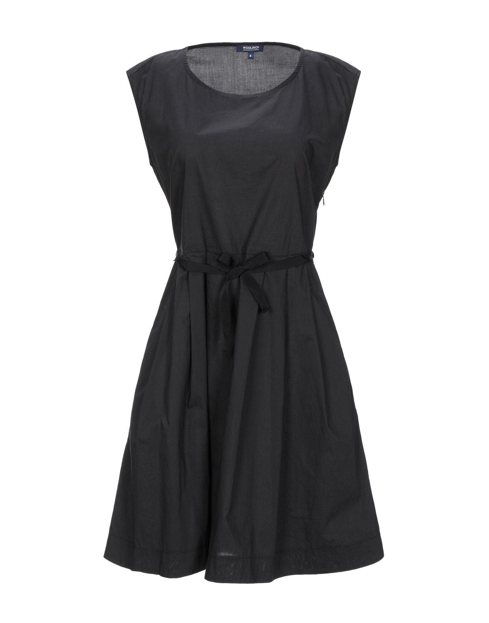Фото - WOOLRICH Короткое платье woolrich топ без рукавов
