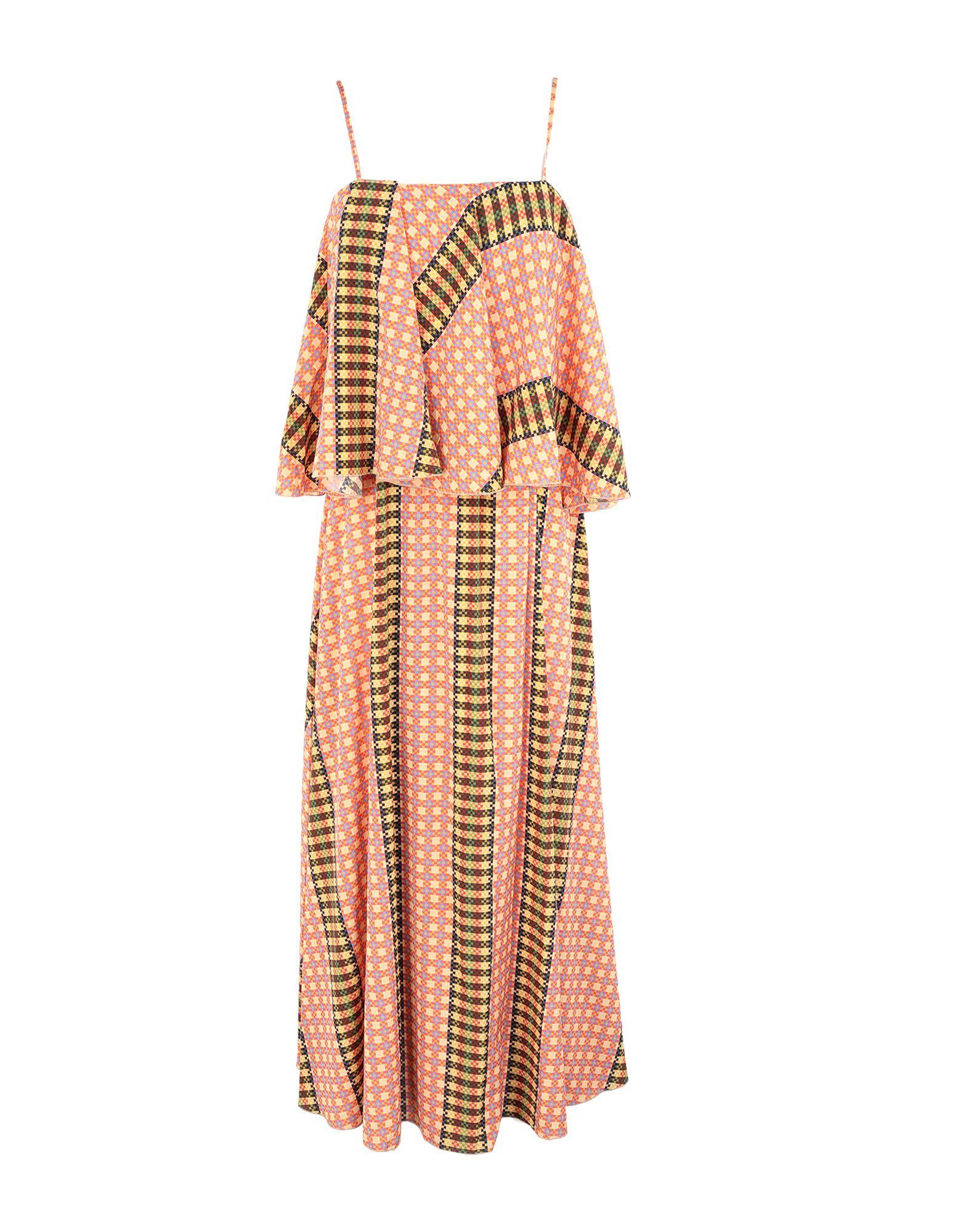 MR. MRS. SHIRT Длинное платье