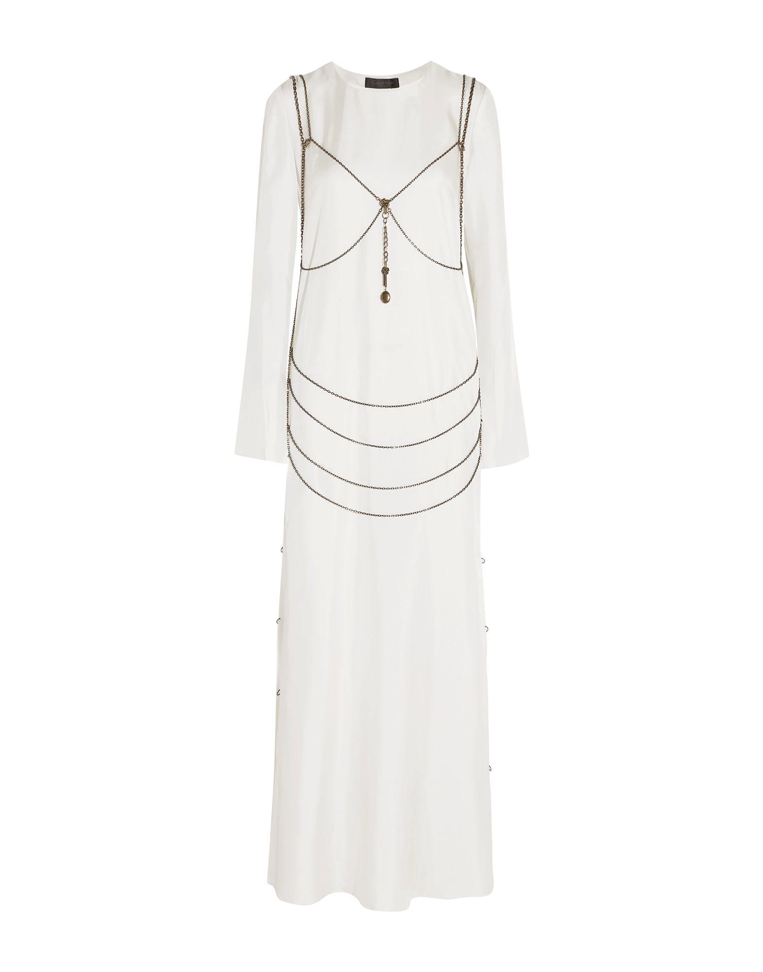 CALVIN KLEIN COLLECTION Длинное платье