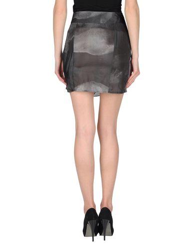 Фото 2 - Мини-юбка свинцово-серого цвета