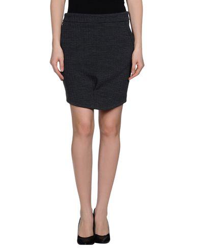 rose-a-pois-knee-length-skirt