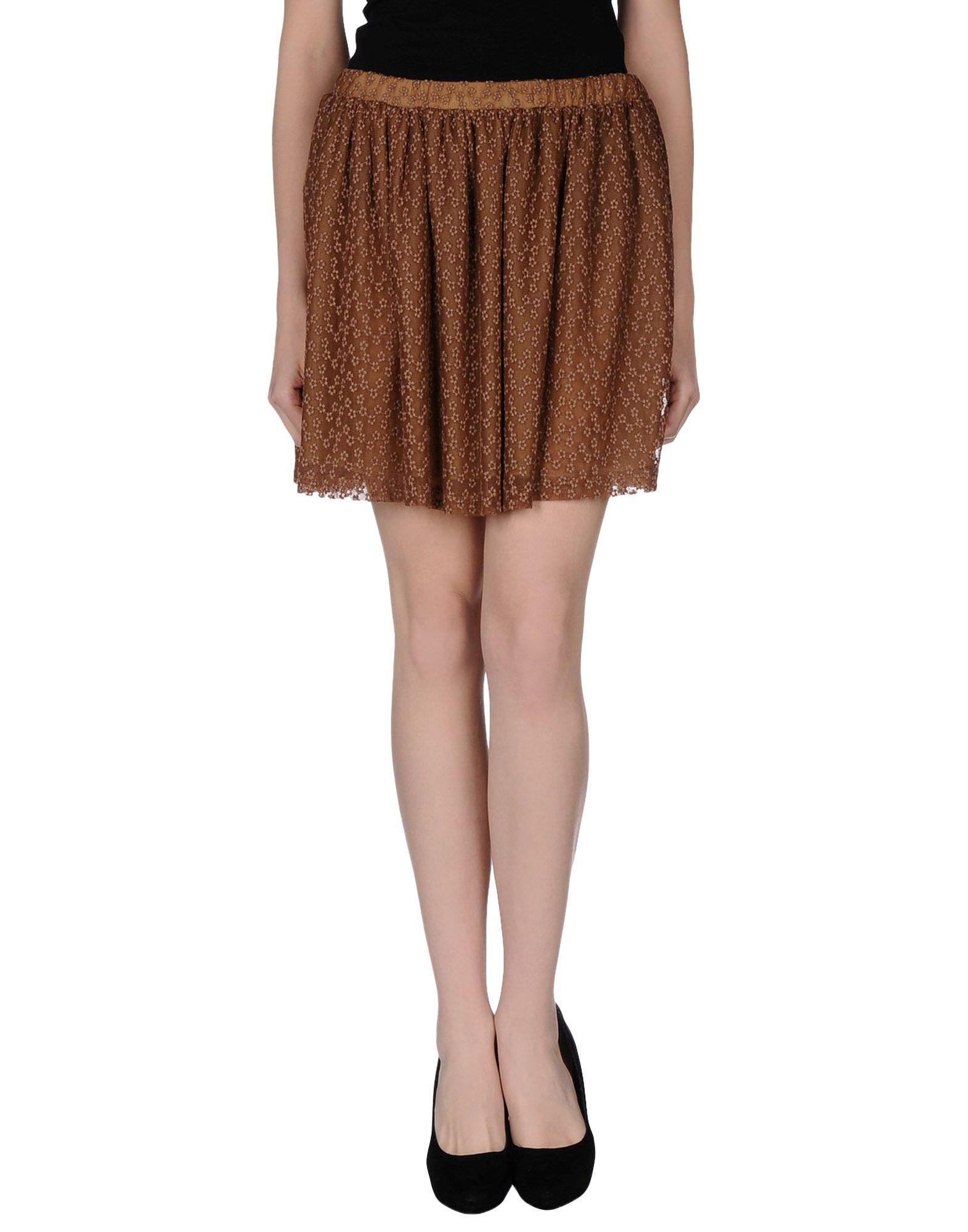 MOMONÍ Мини-юбка momoní длинная юбка