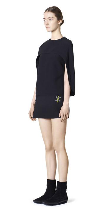 Balenciaga Shoe Lace Mini Skirt