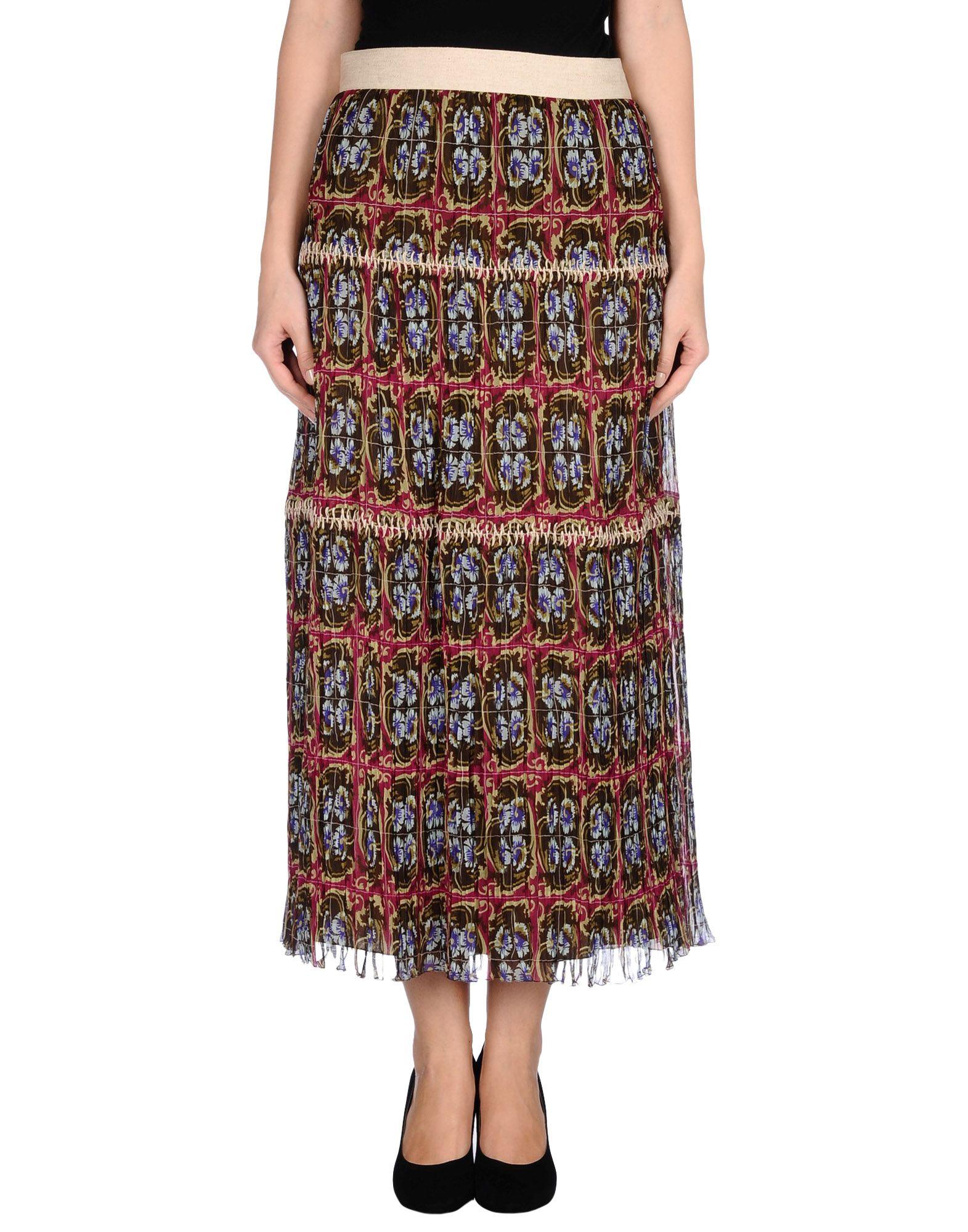 PHILOSOPHY di ALBERTA FERRETTI Длинная юбка цена 2017