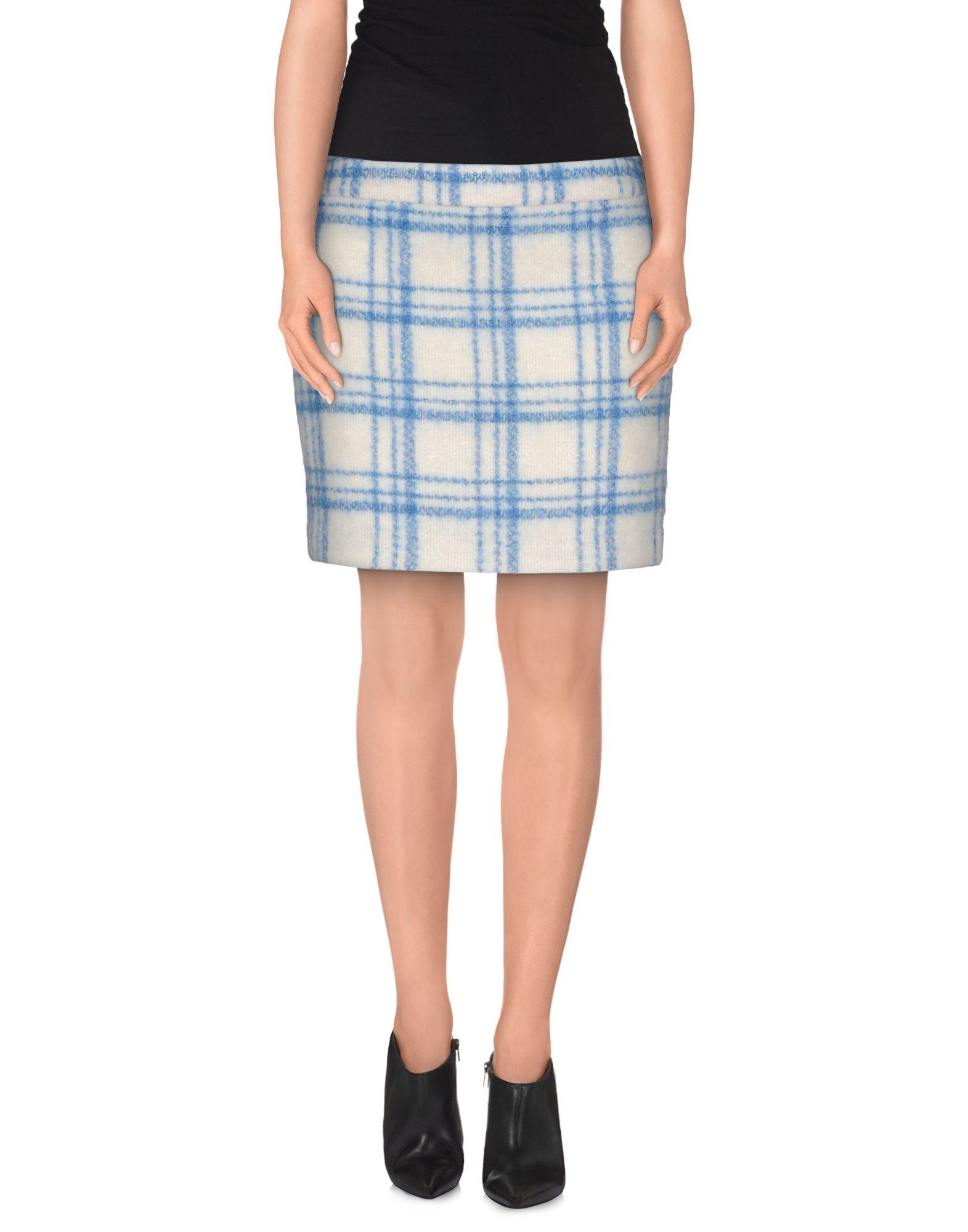 GANNI Мини-юбка цены онлайн