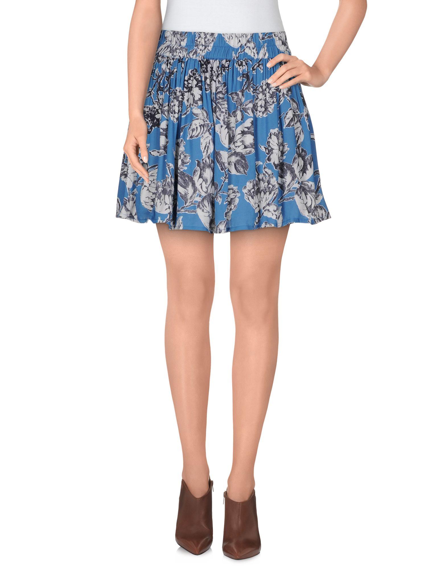 GANNI Мини-юбка ganni короткое платье