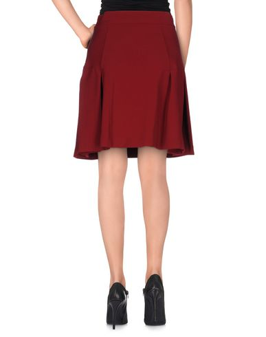 Фото 2 - Юбку до колена от PINKO BLACK красно-коричневого цвета