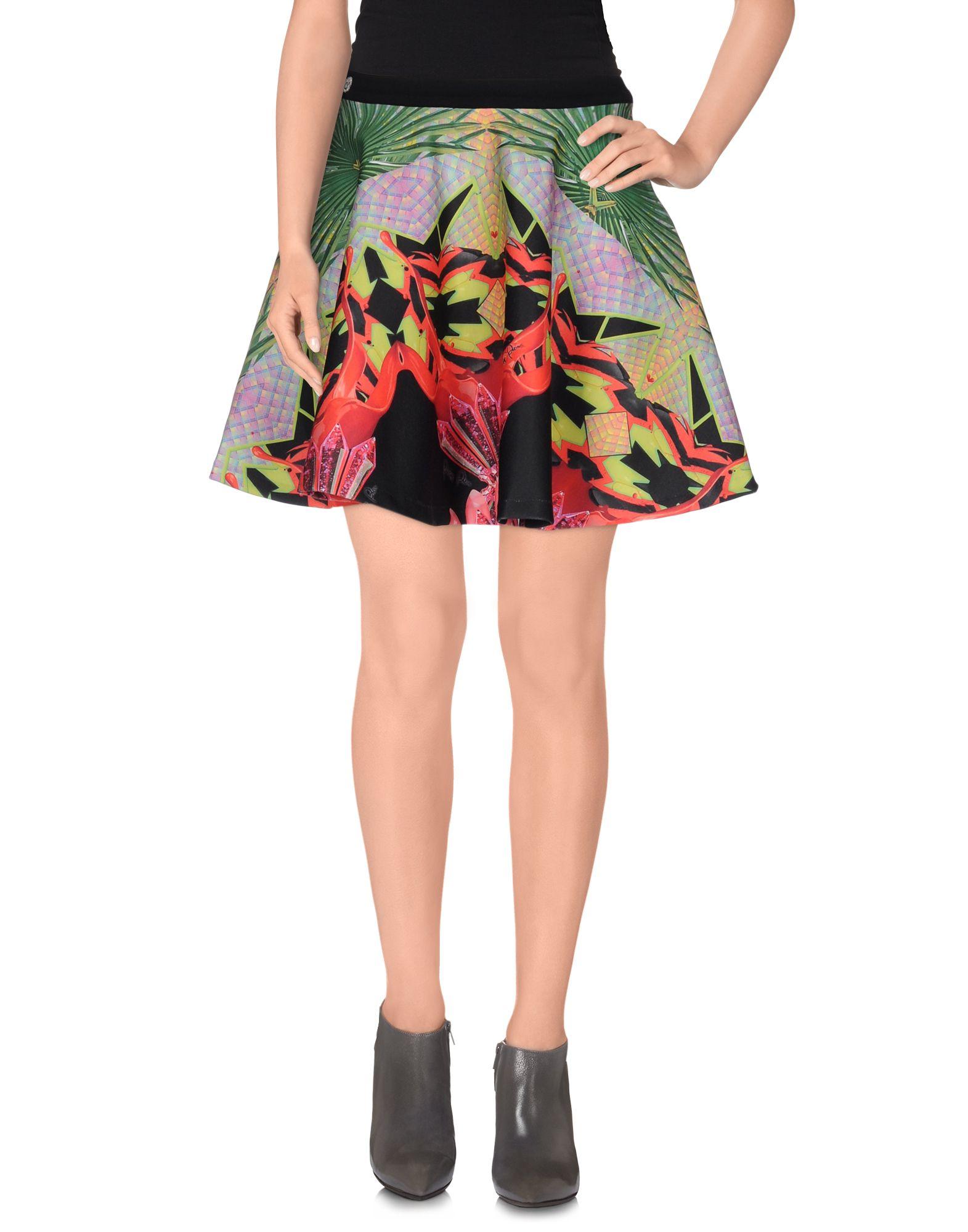 PHILIPP PLEIN Мини-юбка юбка philipp plein размер 128 голубой