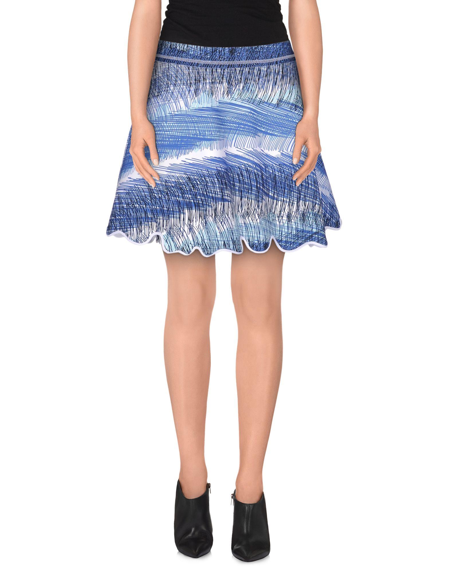 KENZO Мини-юбка kenzo юбка с асимметричными сборками