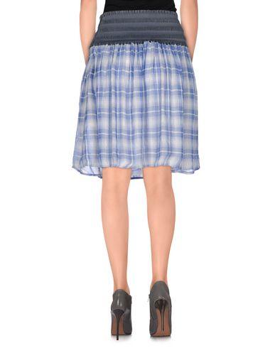 Фото 2 - Мини-юбка синего цвета