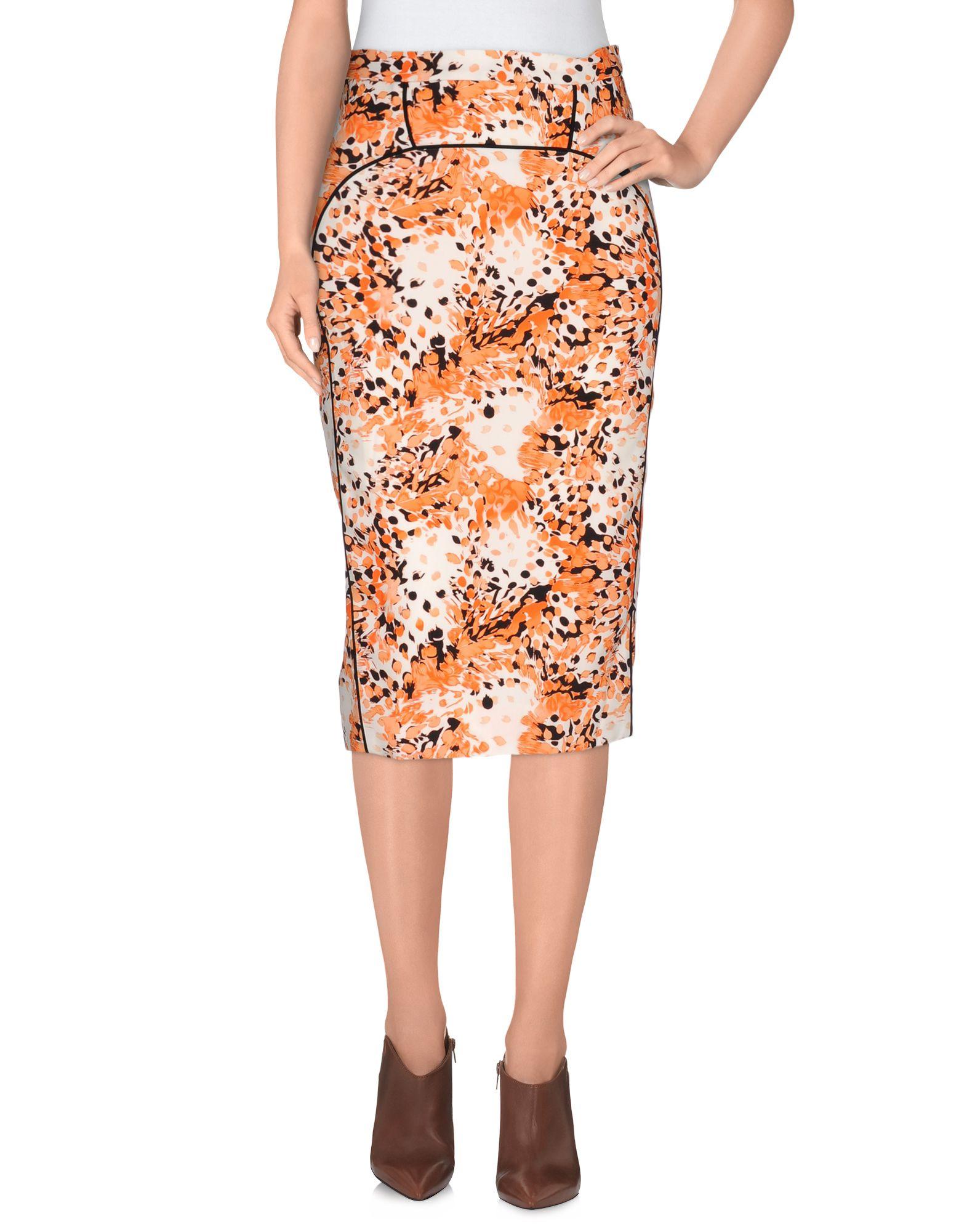 FRANCESCO SCOGNAMIGLIO Юбка длиной 3/4 francesco scognamiglio короткое платье