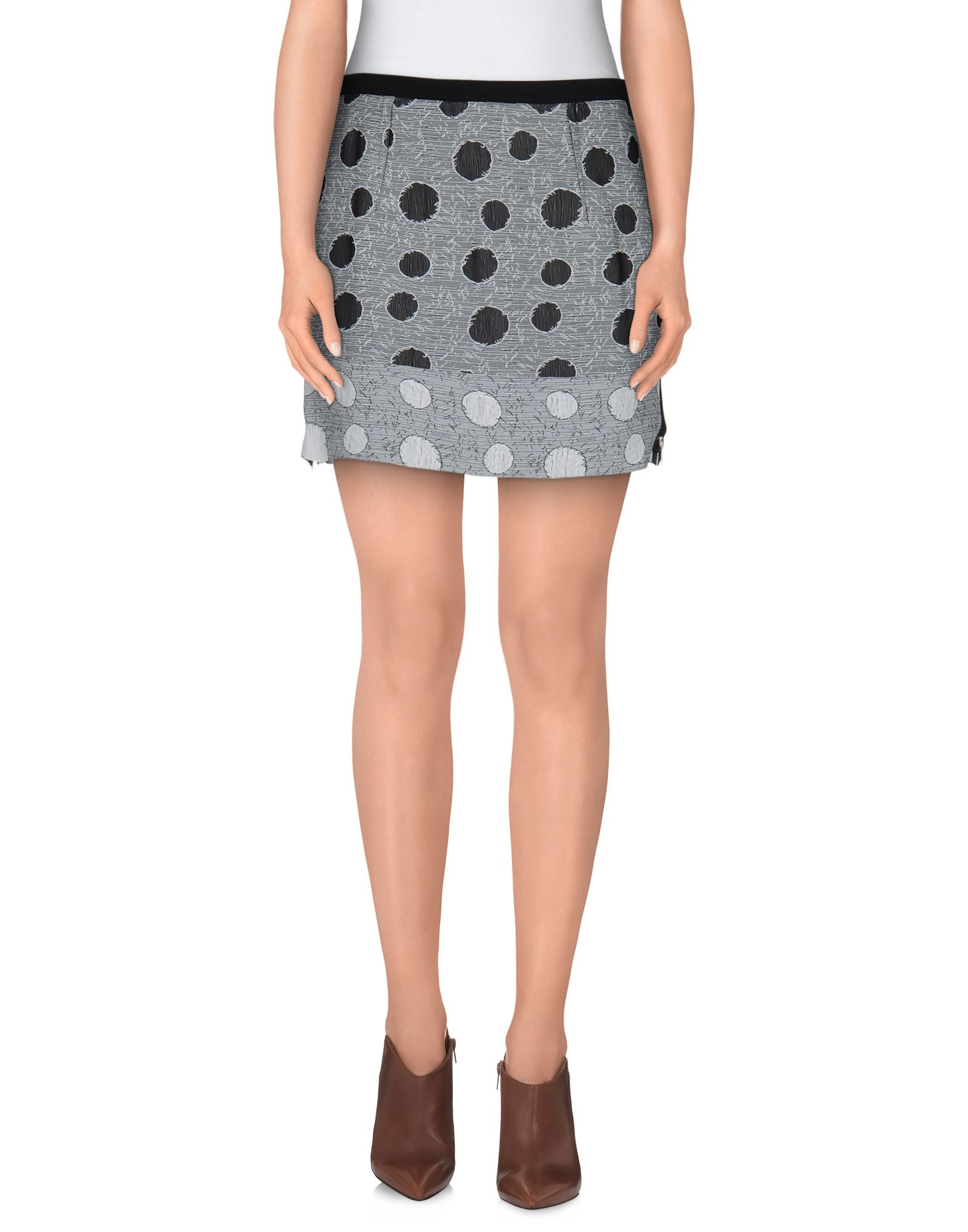 COSTUME NATIONAL Мини-юбка юбка карандаш с застежкой на молнию costume national