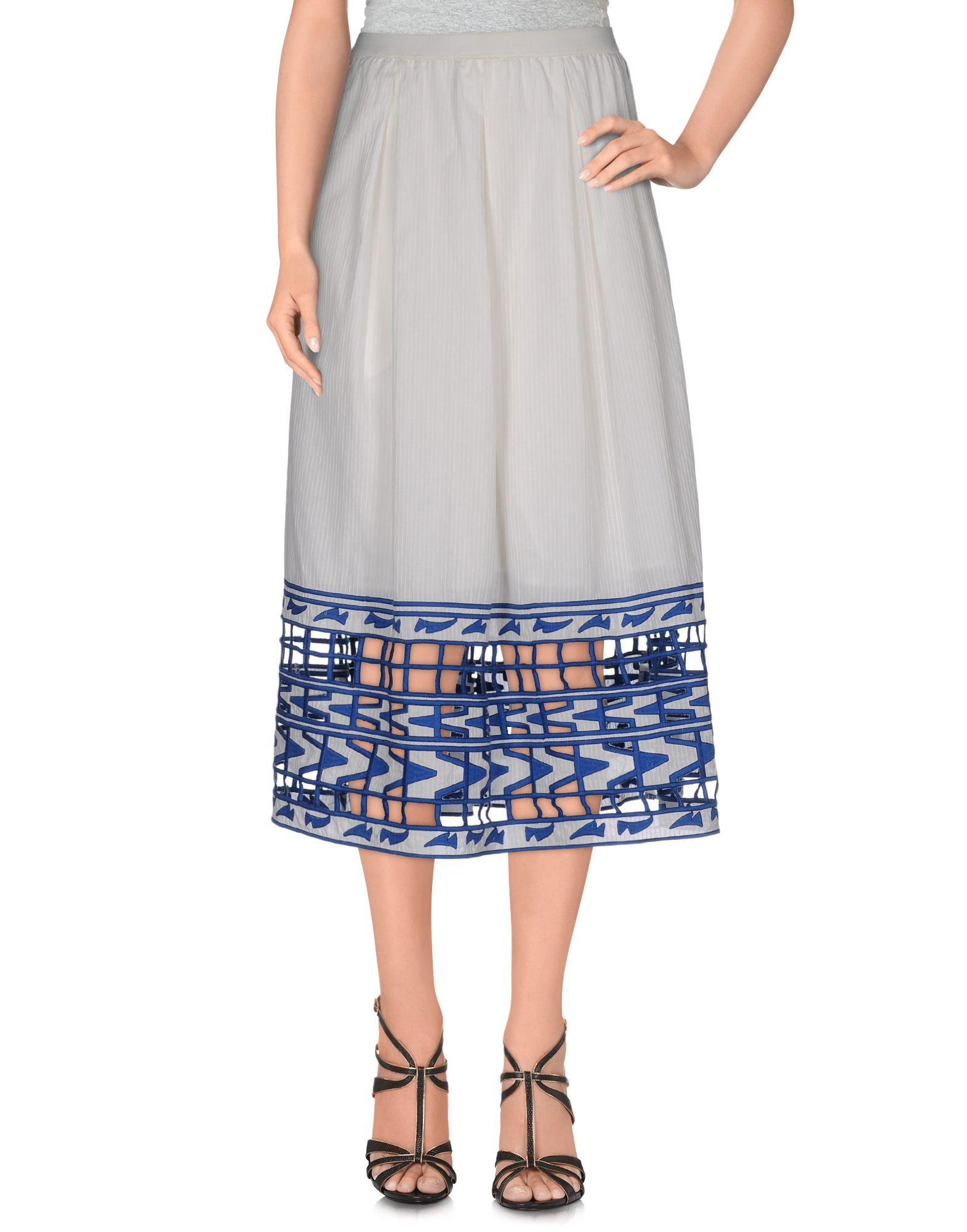 SEA Юбка длиной 3/4 moschino couture юбка длиной 3 4