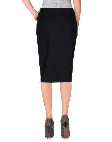Фото 2 - Юбку до колена от TWINSET черного цвета