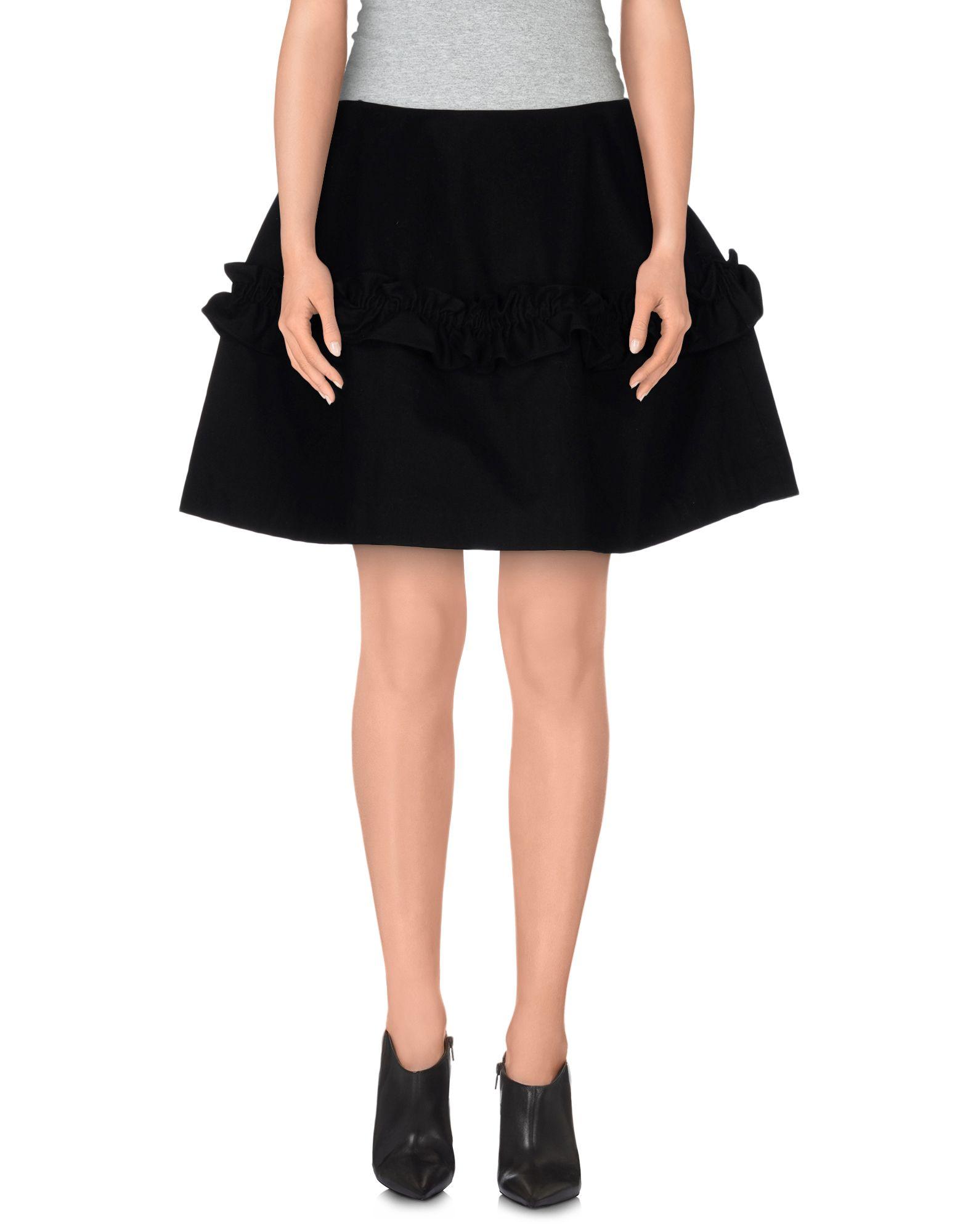 SIMONE ROCHA X J BRAND Denim Skirt in Black