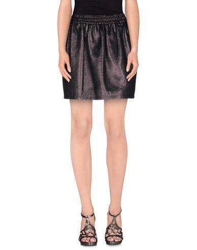 Фото - Мини-юбка цвет стальной серый