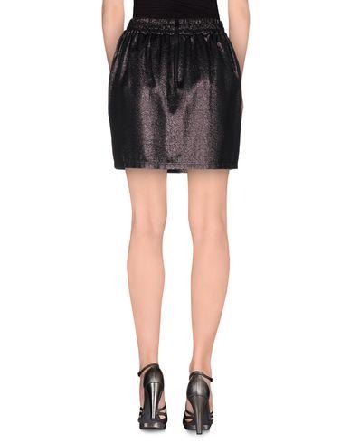 Фото 2 - Мини-юбка цвет стальной серый