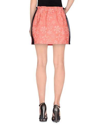 Фото 2 - Мини-юбка от GAëLLE Paris кораллового цвета