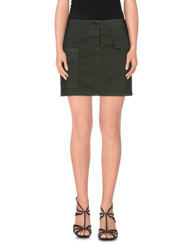 Фото - Мини-юбка цвет зеленый-милитари