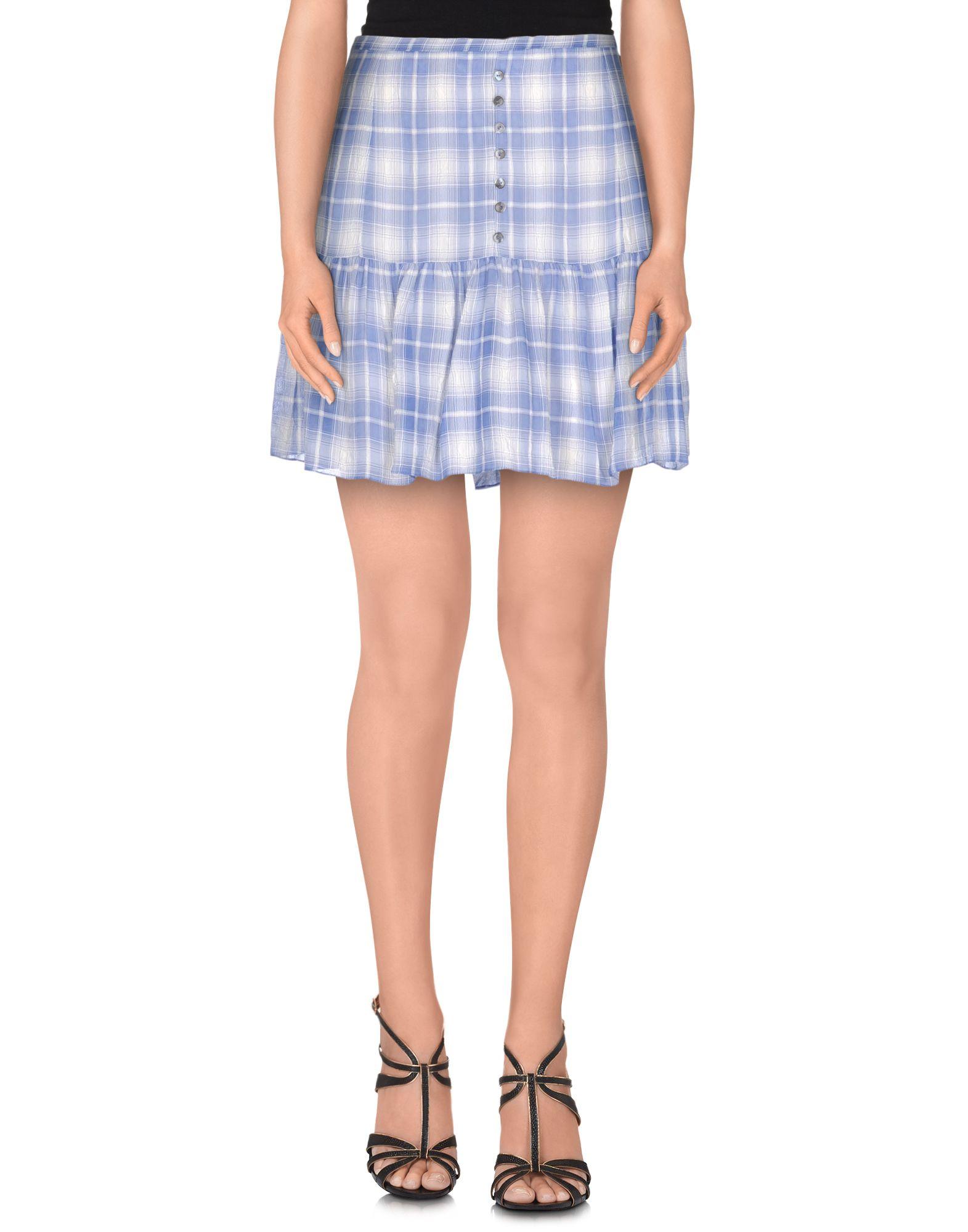 GALLIANO Мини-юбка юбка brusnika brusnika br032ewwsq30