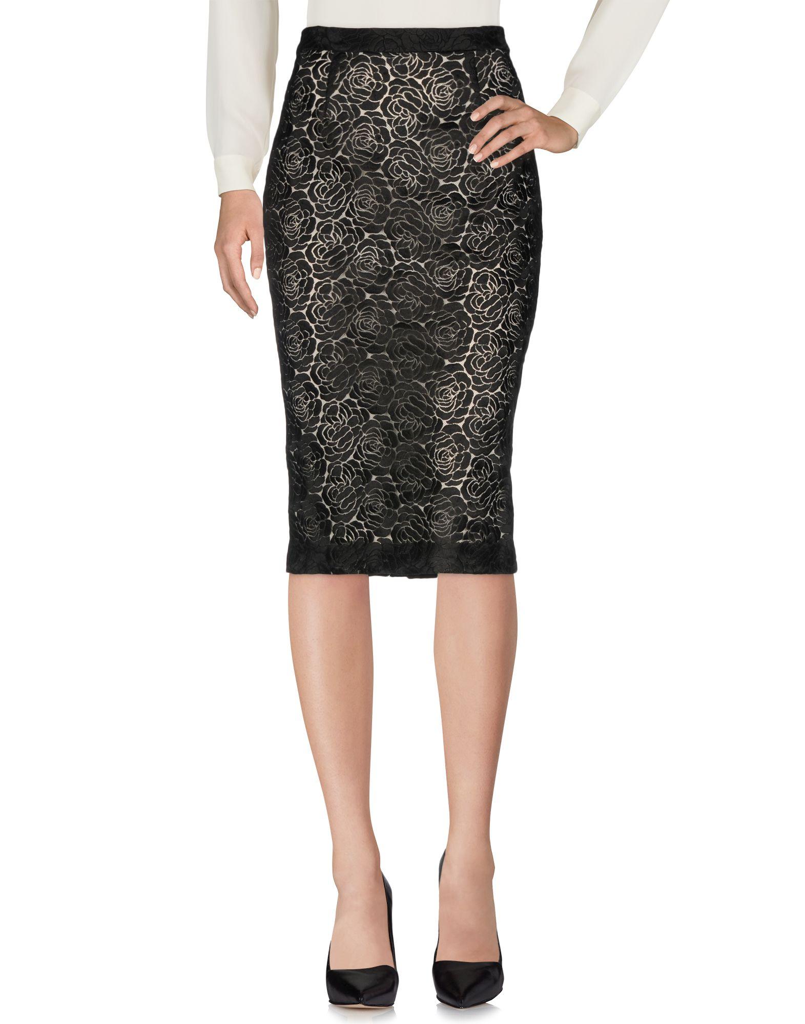 A.L.C. Юбка длиной 3/4 moschino couture юбка длиной 3 4