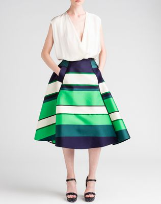 LANVIN Full skirt Skirt D d