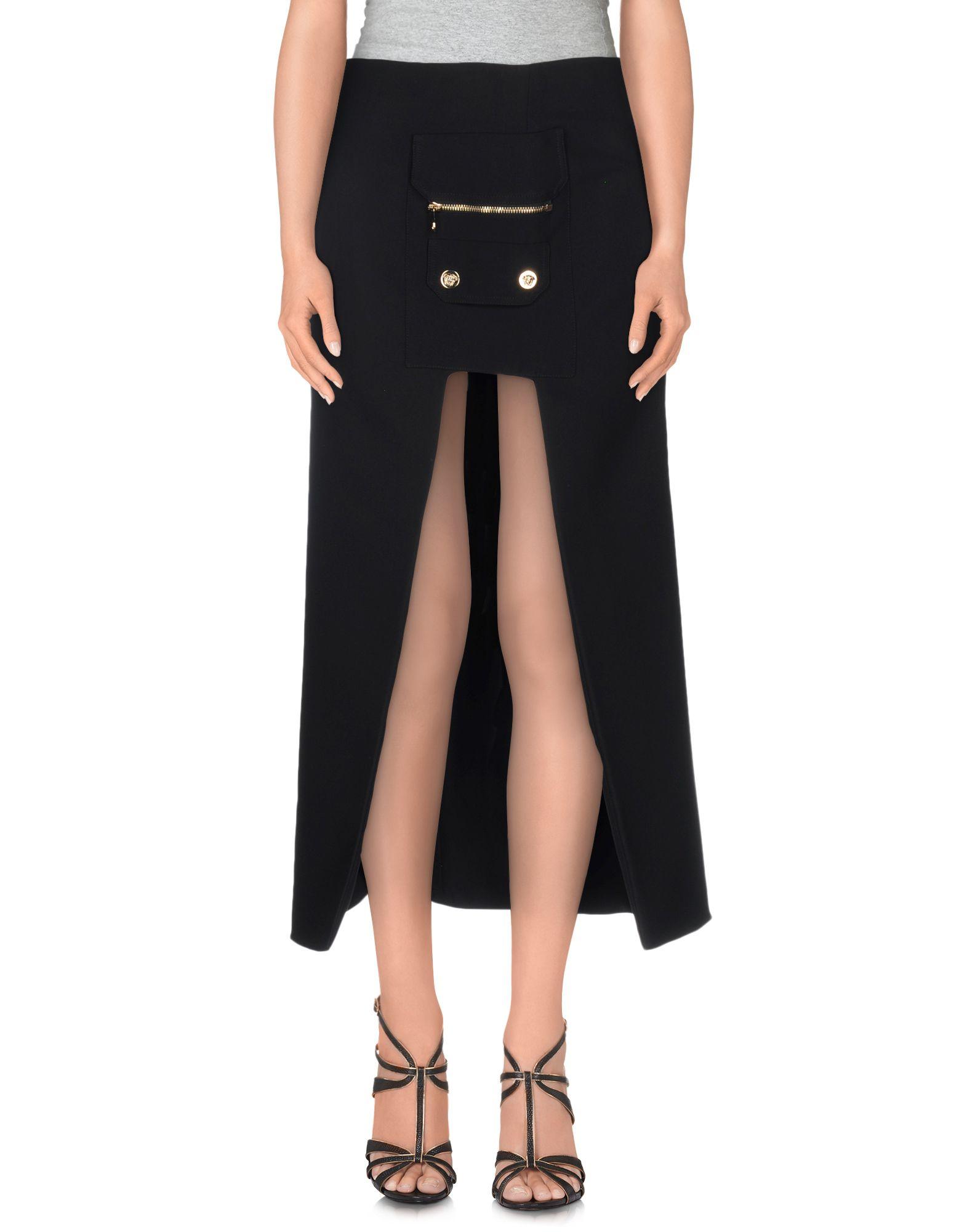 VERSACE Юбка длиной 3/4 versace мини юбка