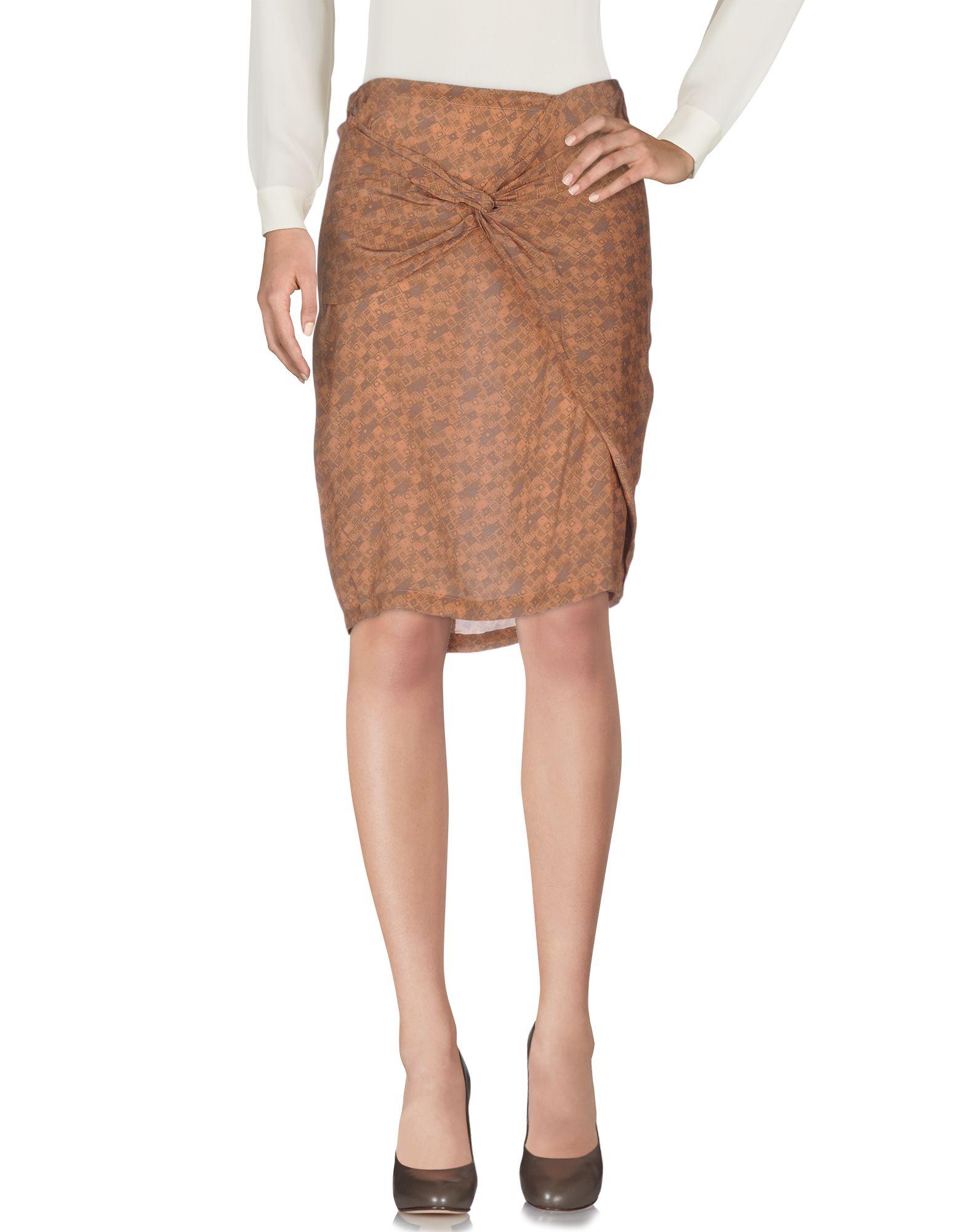 SKIRTS - Knee length skirts Humanoid Fake T1jdWRO3