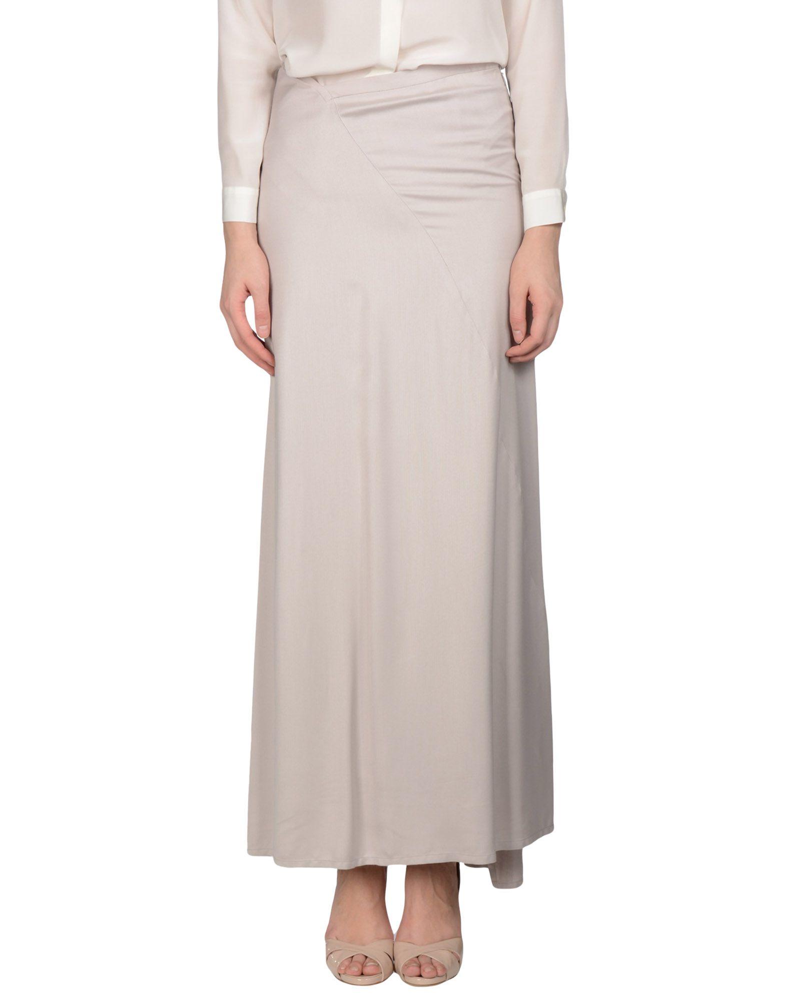 ANN DEMEULEMEESTER Длинная юбка