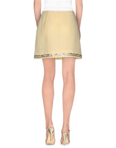 Фото 2 - Мини-юбка светло-желтого цвета