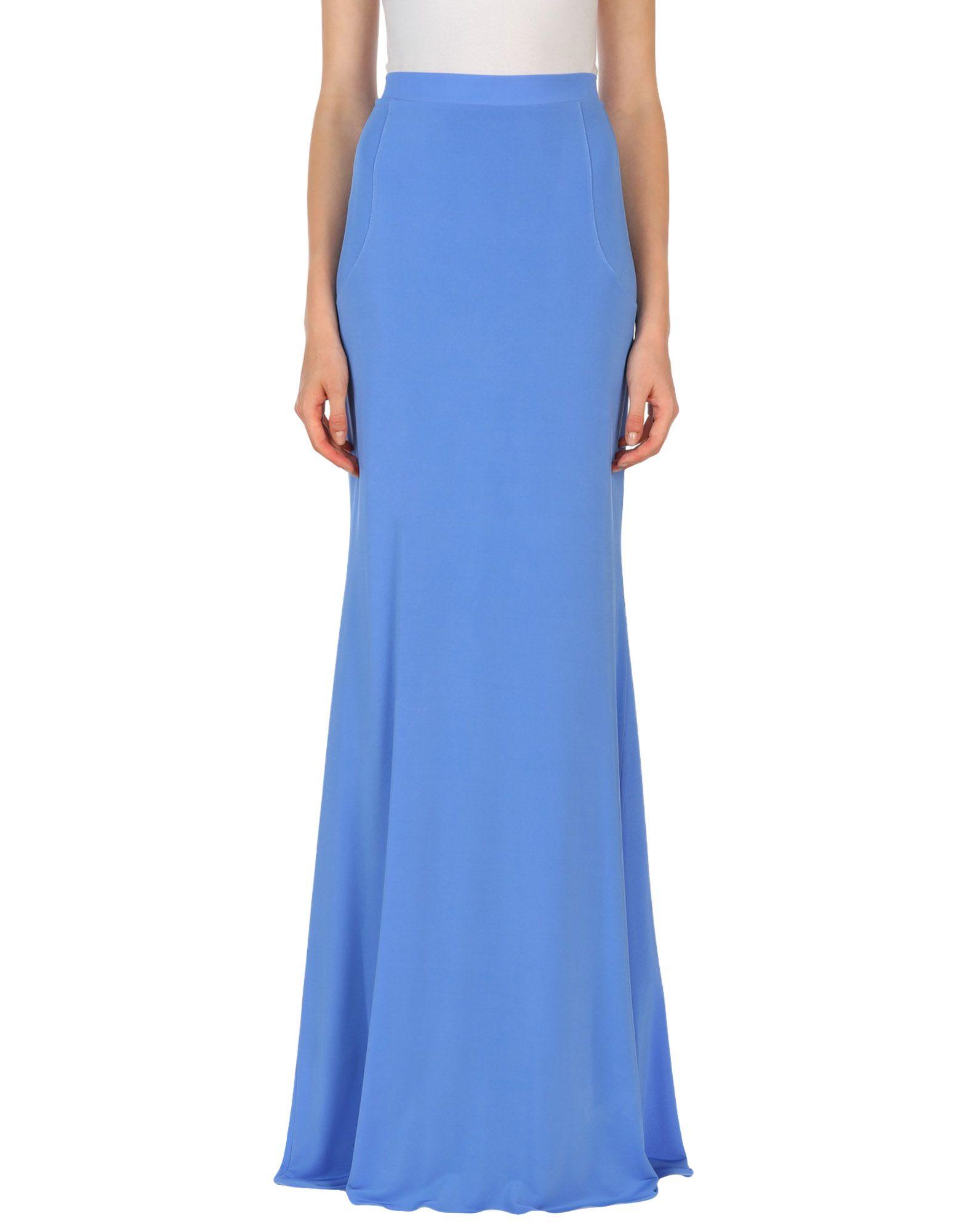 BLUMARINE Длинная юбка юбка длинная с кружевом blumarine юбка длинная с кружевом
