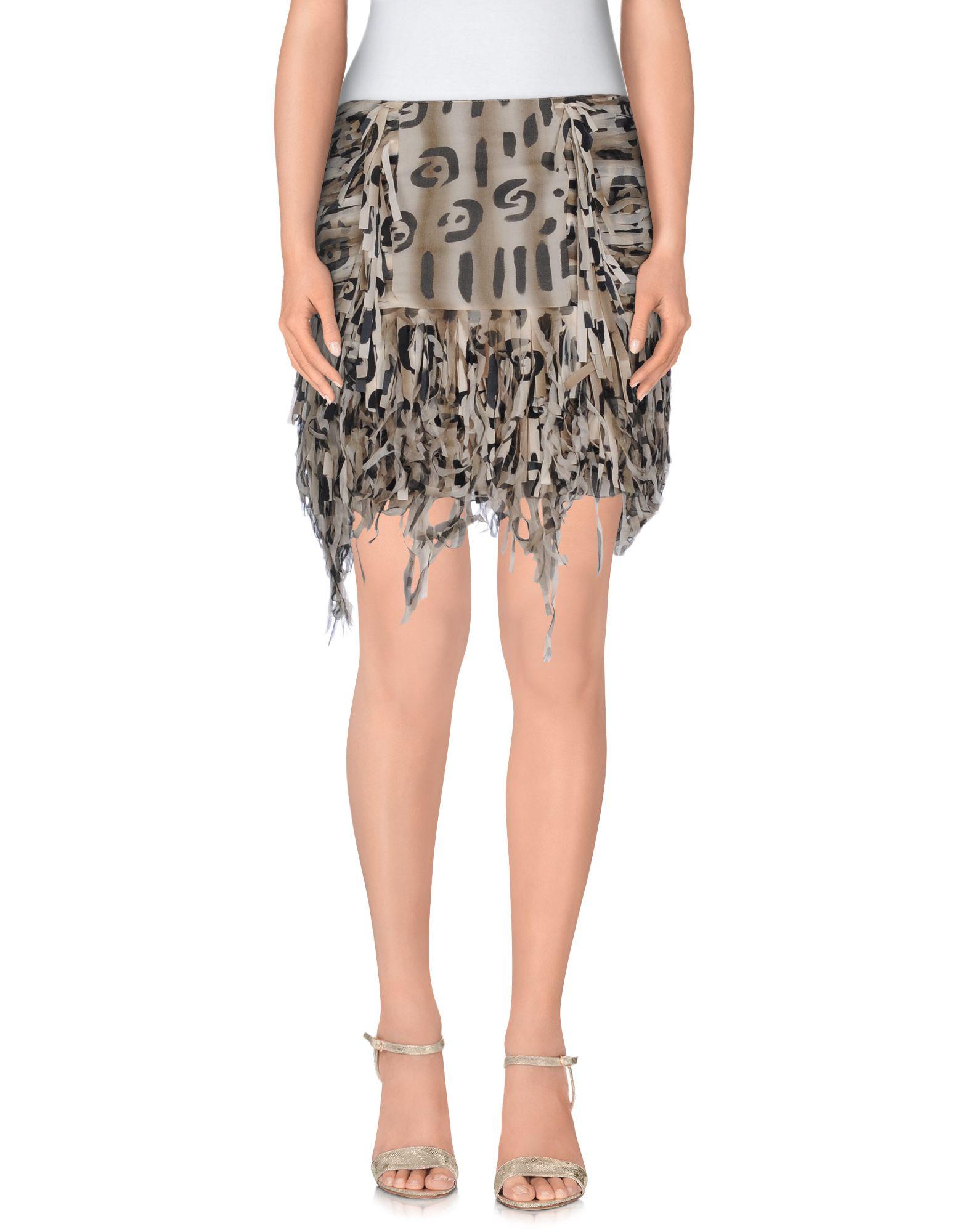 где купить  BLUMARINE Мини-юбка  по лучшей цене