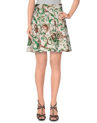 Фото - Мини-юбка цвет слоновая кость