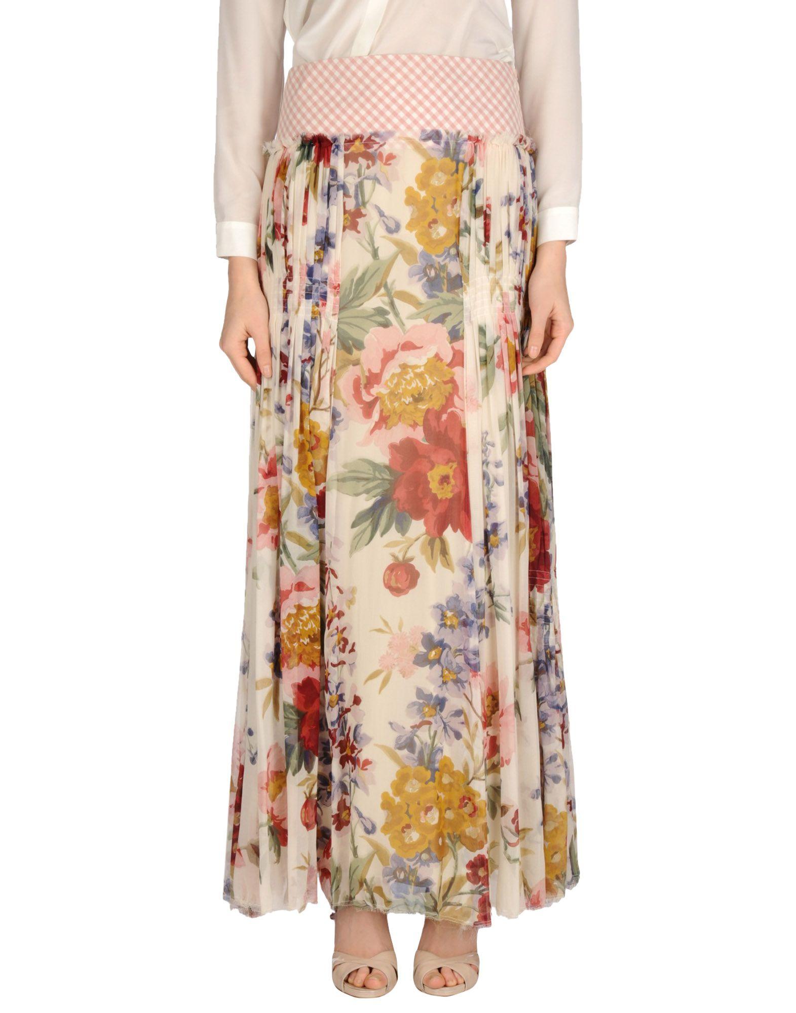 цена  KENZO Длинная юбка  онлайн в 2017 году