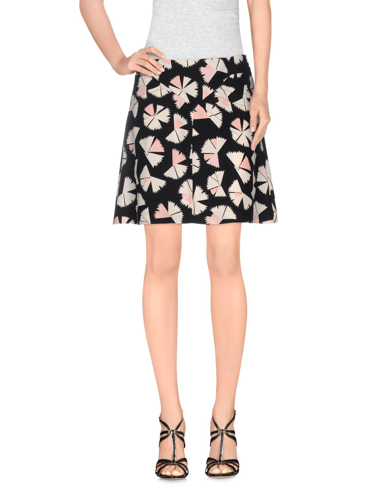MARC BY MARC JACOBS Мини-юбка marc by marc jacobs юбка с контрастной отделкой