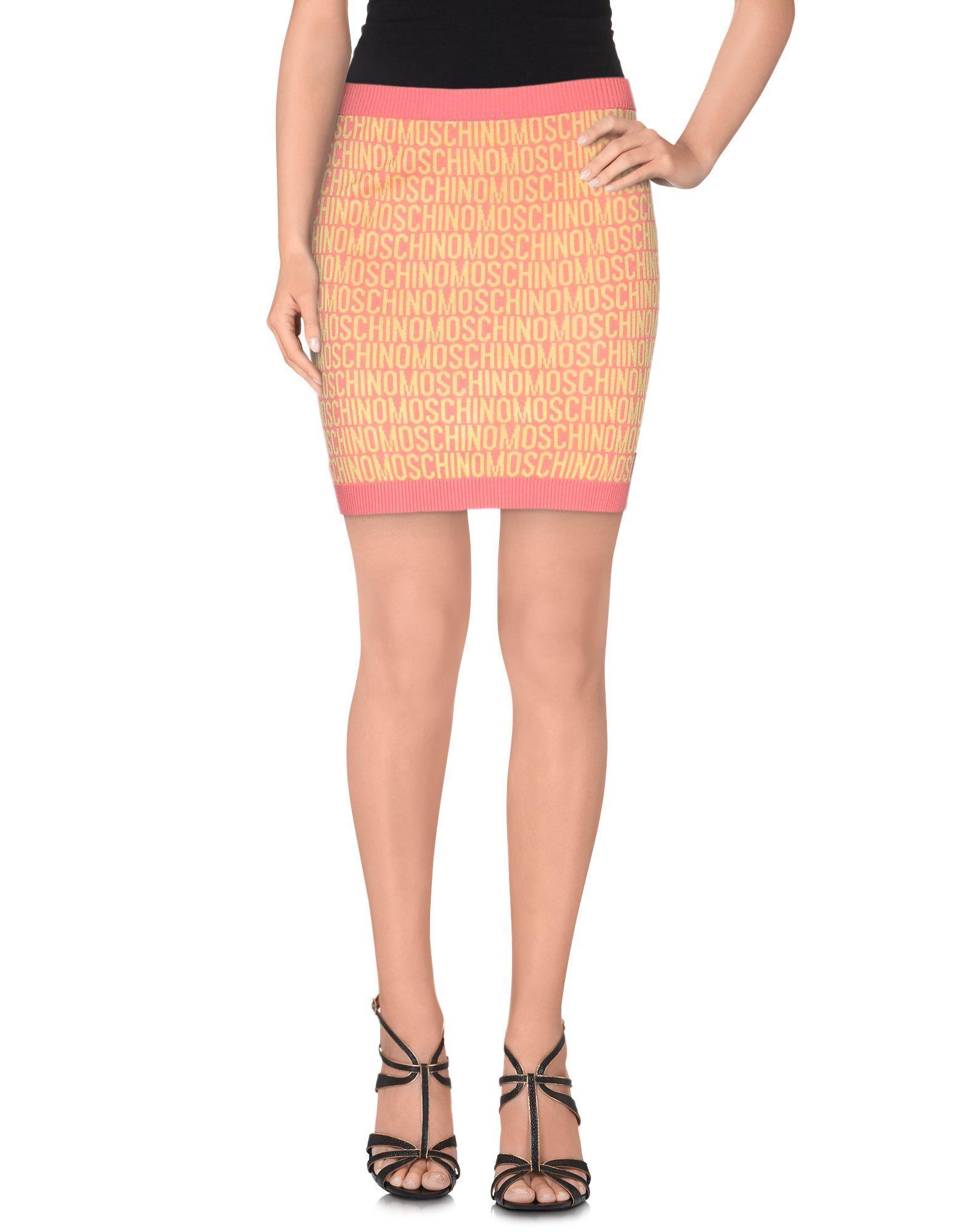 MOSCHINO COUTURE Мини-юбка moschino couture сандалии