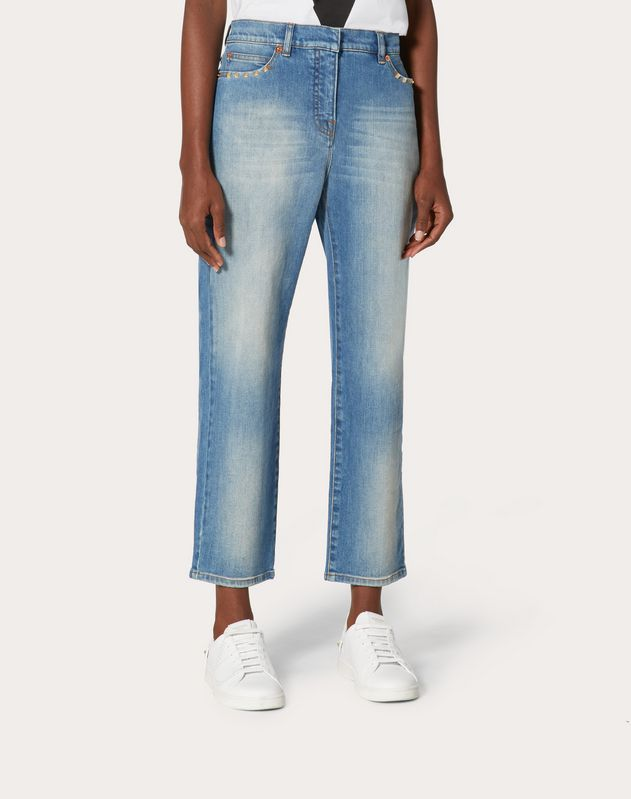 DENIM CHINOS ROCKSTUD UNTITLED