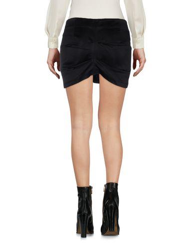 Фото 2 - Мини-юбка от MASSIMO E DANIELE черного цвета