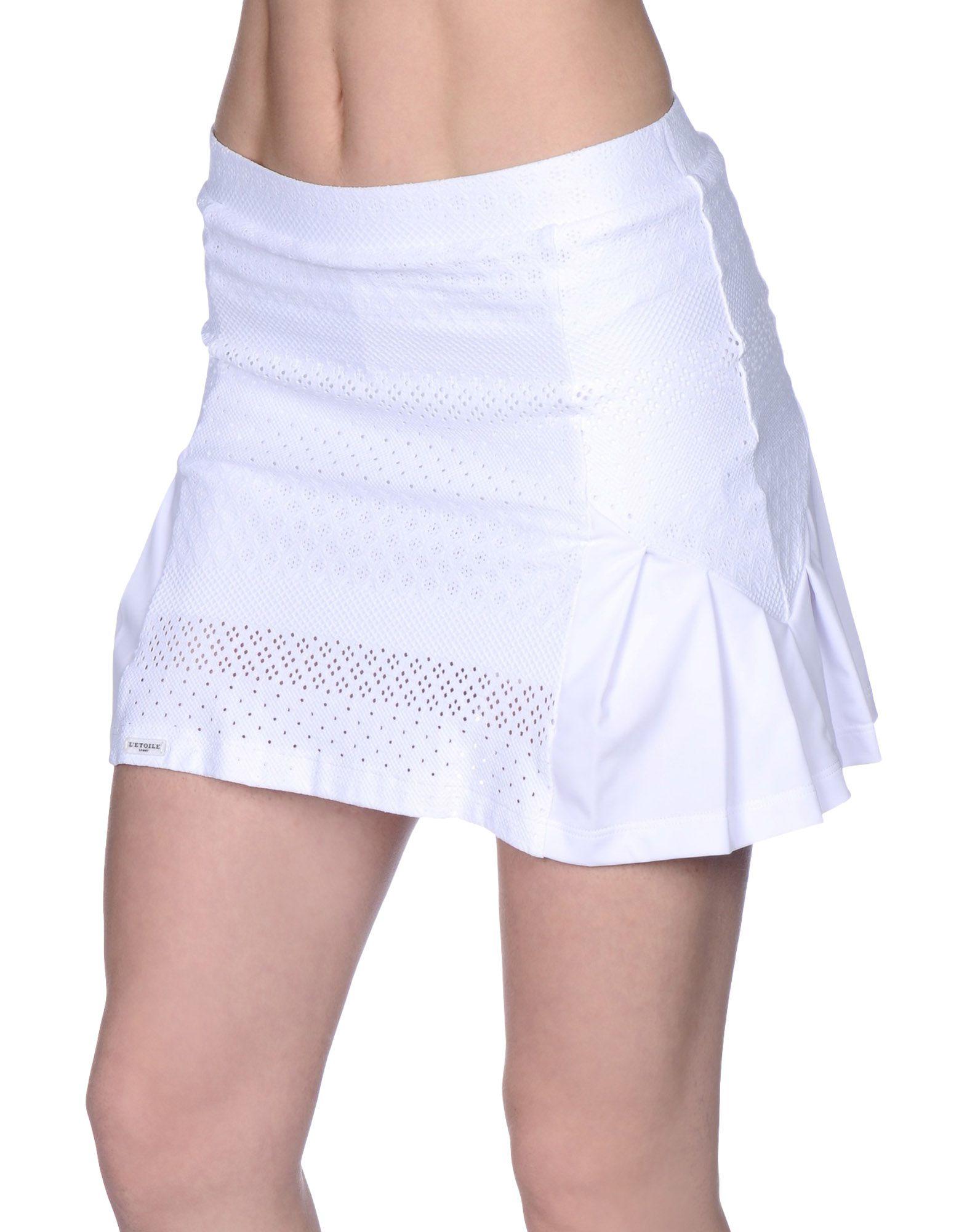 L'ETOILE SPORT Мини-юбка sport dress katrus платья и сарафаны мини короткие