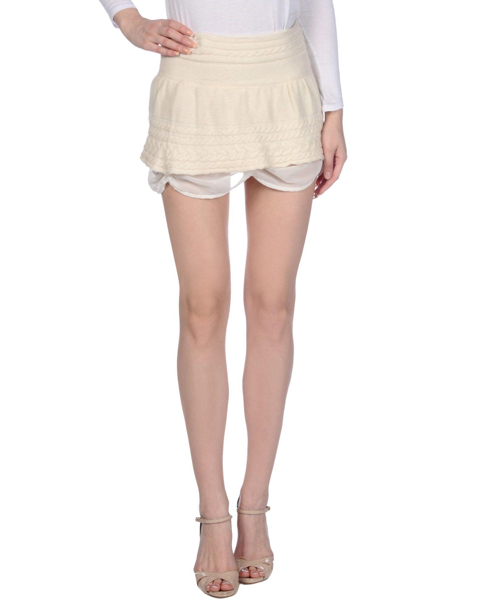 MAISON ESPIN Мини-юбка недорго, оригинальная цена