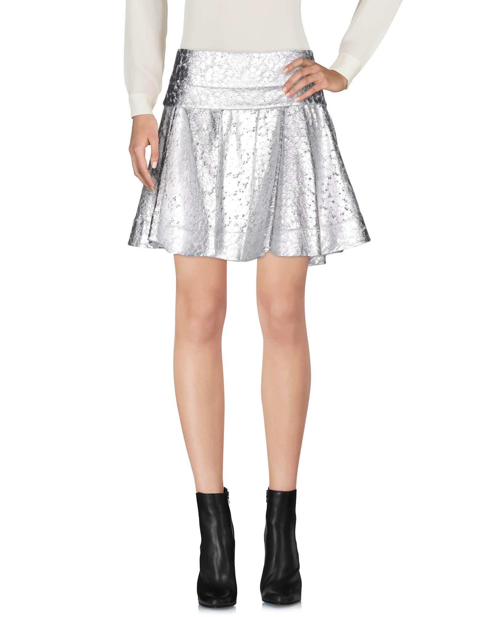 Фото - DKNY Мини-юбка обувь на высокой платформе dkny