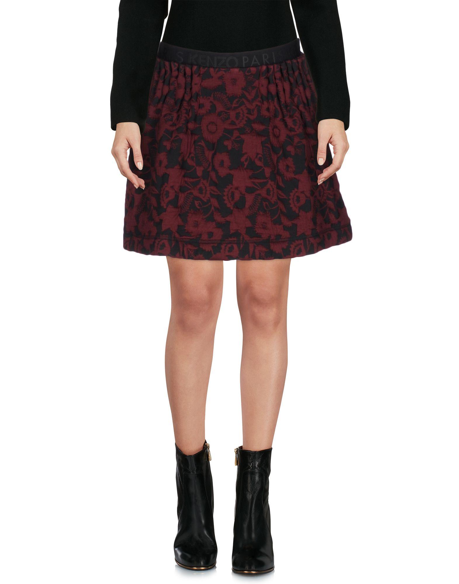 KENZO Мини-юбка kenzo юбка с принтом